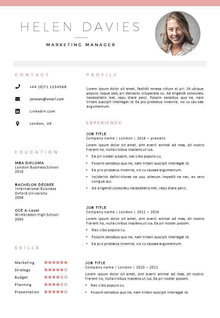 50 best Go Sumo CV templates | Resume | Curriculum Vitae design ...