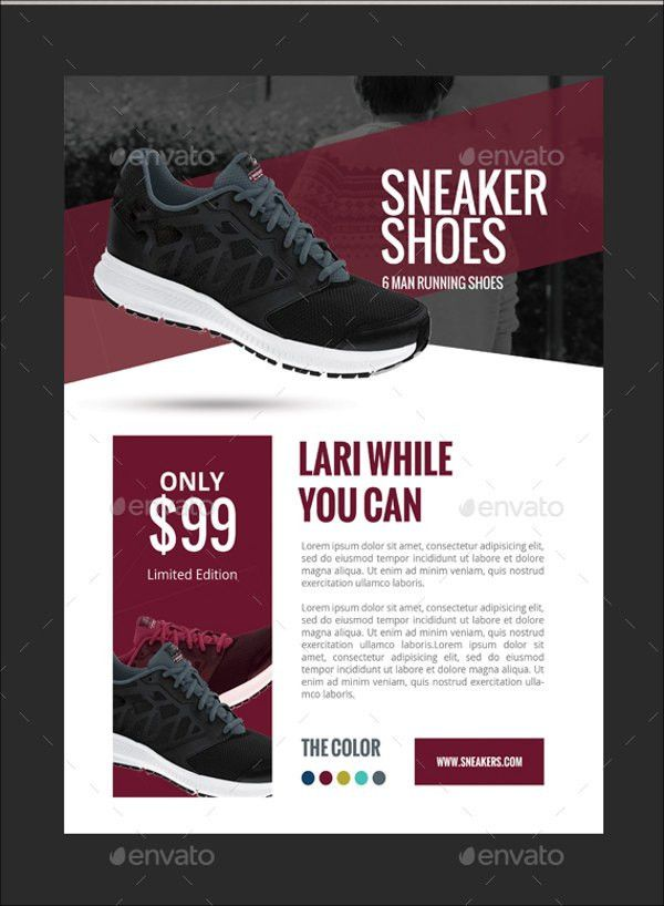 7+ Awesome Shoe Flyer Templates | Free & Premium Templates