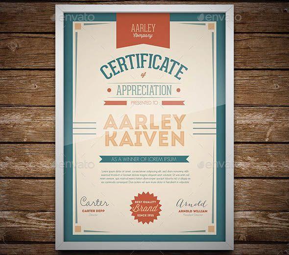 7 best certificate_award images on Pinterest | Certificate design ...