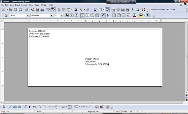 OpenOffice.org Training, Tips, and Ideas: The most straightforward ...