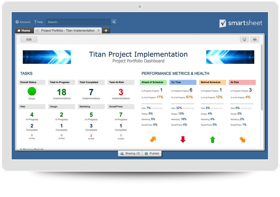 Project Management Solutions | Smartsheet