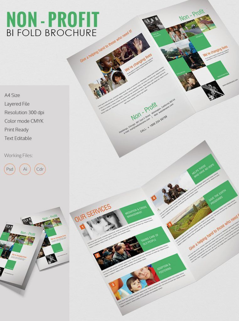 half fold brochure template publisher | Professional Templates