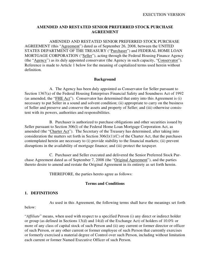 Stock Purchase Agreement. Purchase Agreement Template 28 37 Simple ...
