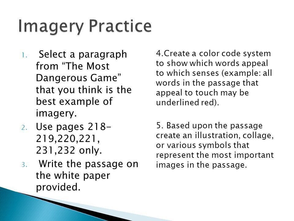 What Is an Image? Imagery in Poetry Practice Feature Menu. - ppt ...