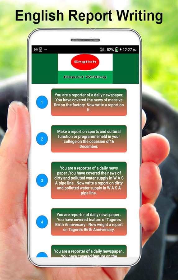 English Report Writing - Android Apps on Google Play