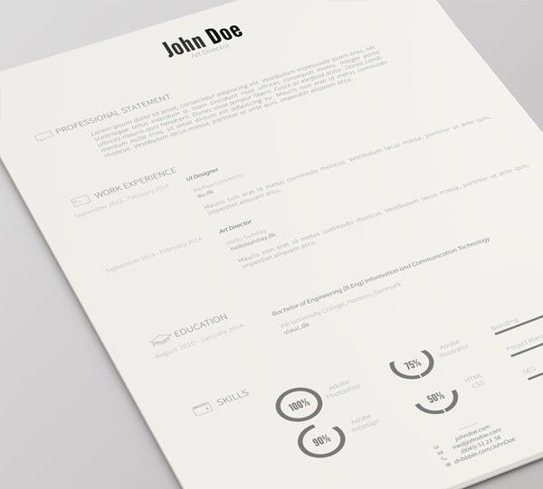 infographic resume style 2016. creative marketing director resume ...