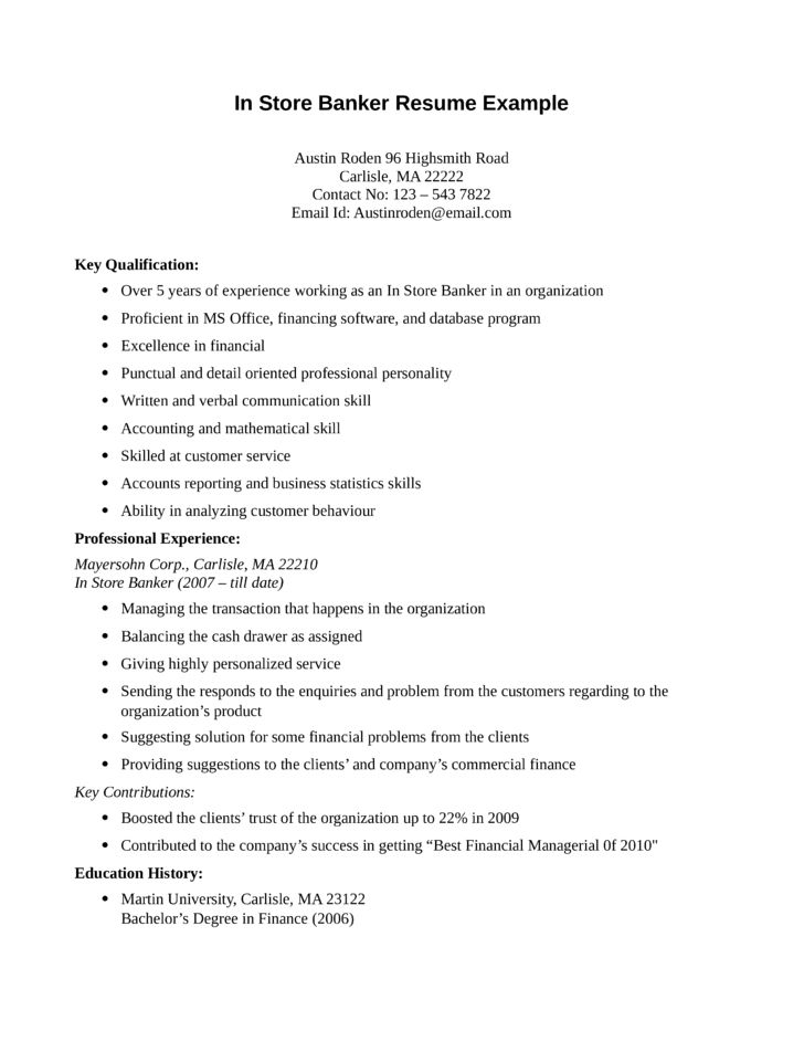 Resume Format Entry Level Entry Level Banker Resume Sample Resume .