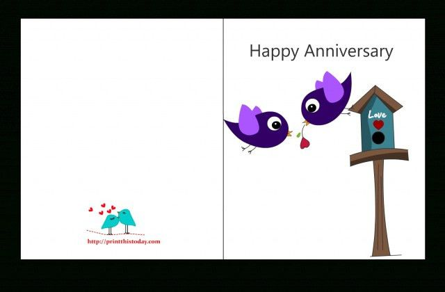Free Printable Anniversary Cards | bookzseo