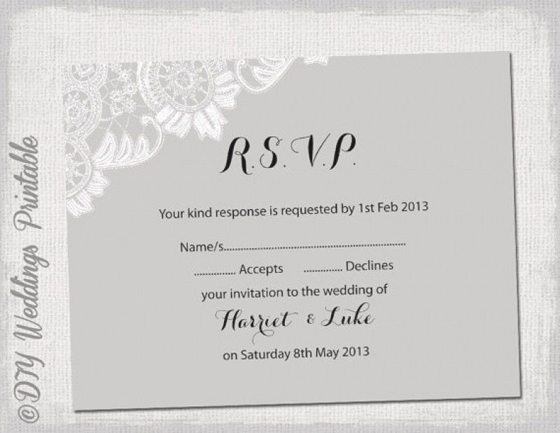 Wedding Reception Invitation Templates Free | wblqual.com