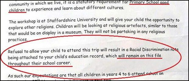 British School Threatens to Label Students 'Racists' Unless They ...