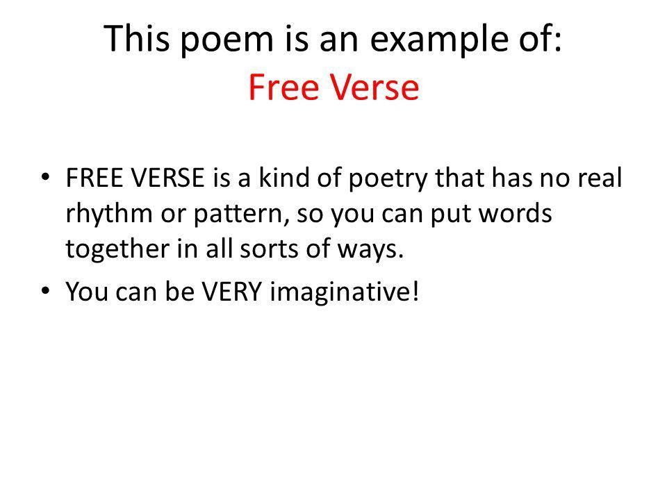 Types of Poems. - ppt video online download