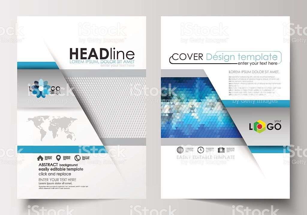 Business Templates For Brochure Magazine Flyer Booklet Cover ...