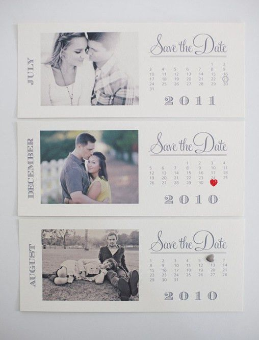 Free Save the Date Templates | Photo Save the Date Calendar Cards