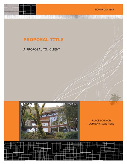 Free Proposal Templates | Microsoft Word Templates