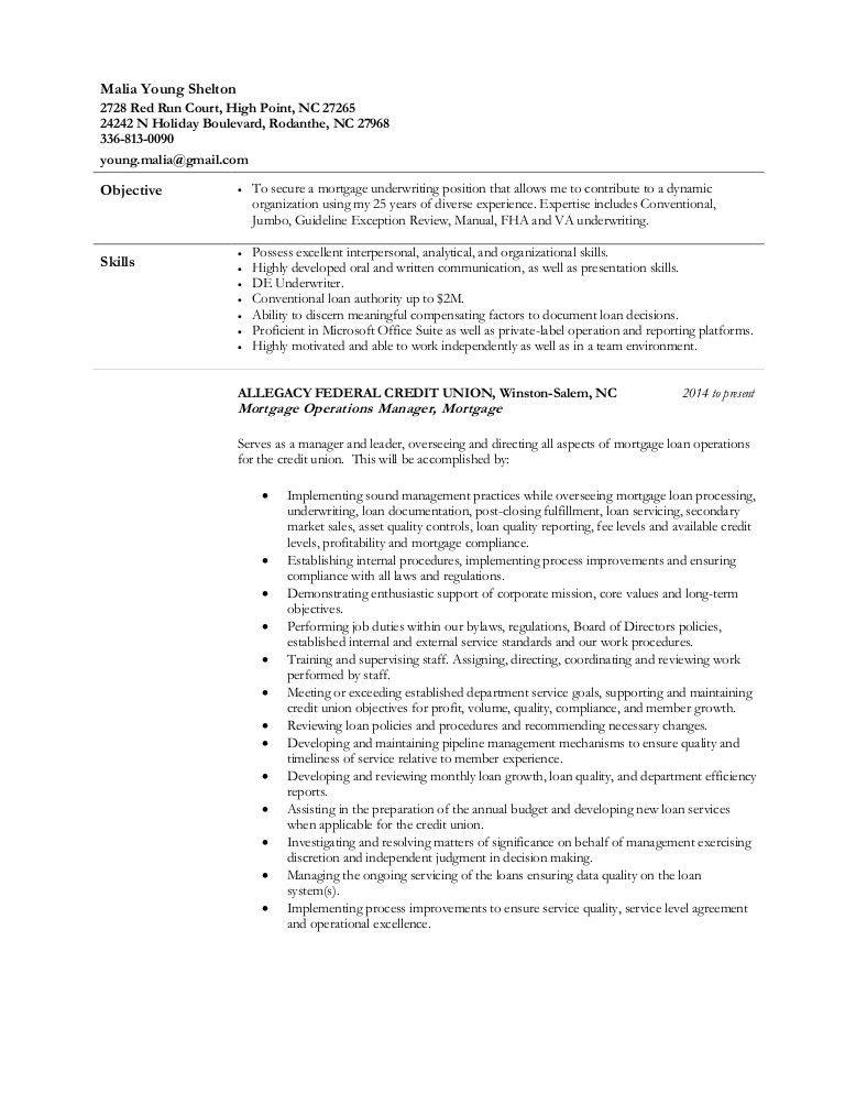 Malia Shelton - MOM Resume w AFCU