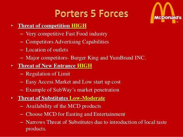 Mcdonalds UAE- PESTLE, Porter's 5, SWOT, Issues & Recomendations.