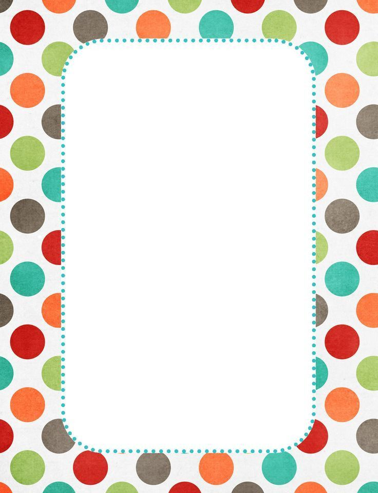 cute borders! | digital frames & borders & Die cuts | Pinterest