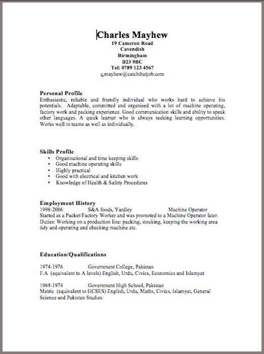 Download Free Resume Templates | Resume Badak