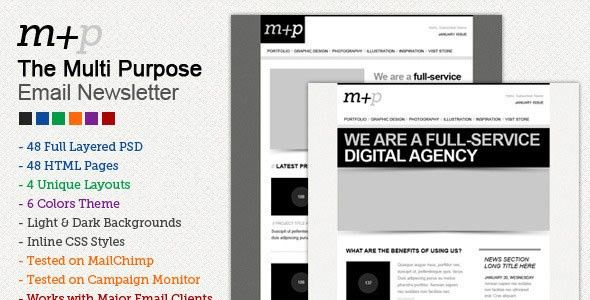 Free and Premium Email Newsletter Templates and Layouts - Designmodo