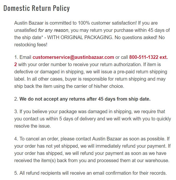How To Write An Ecommerce Return Policy [Template Included]