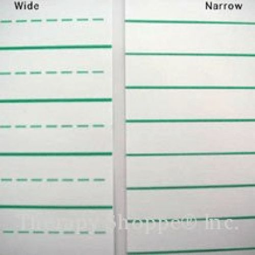A4 Raised Line Handwriting Paper With Wide Lines   The Dyslexia Shop