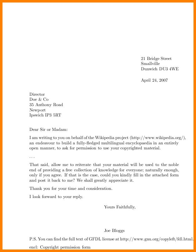 8+ formal letter example request | resume language