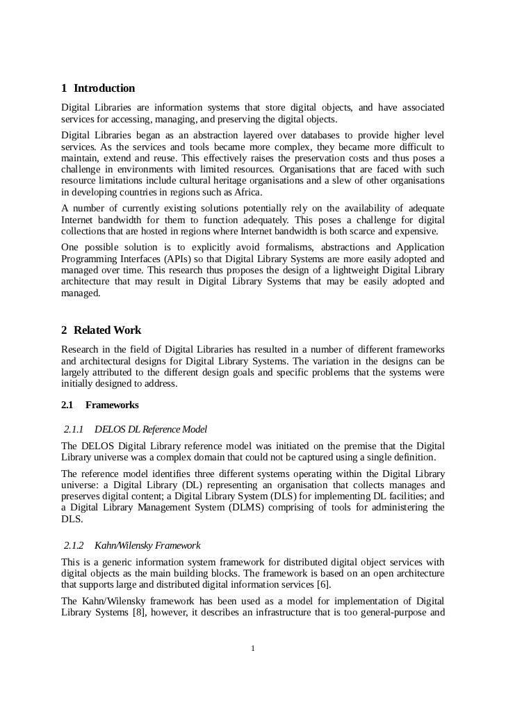 M.Sc. Research Proposal