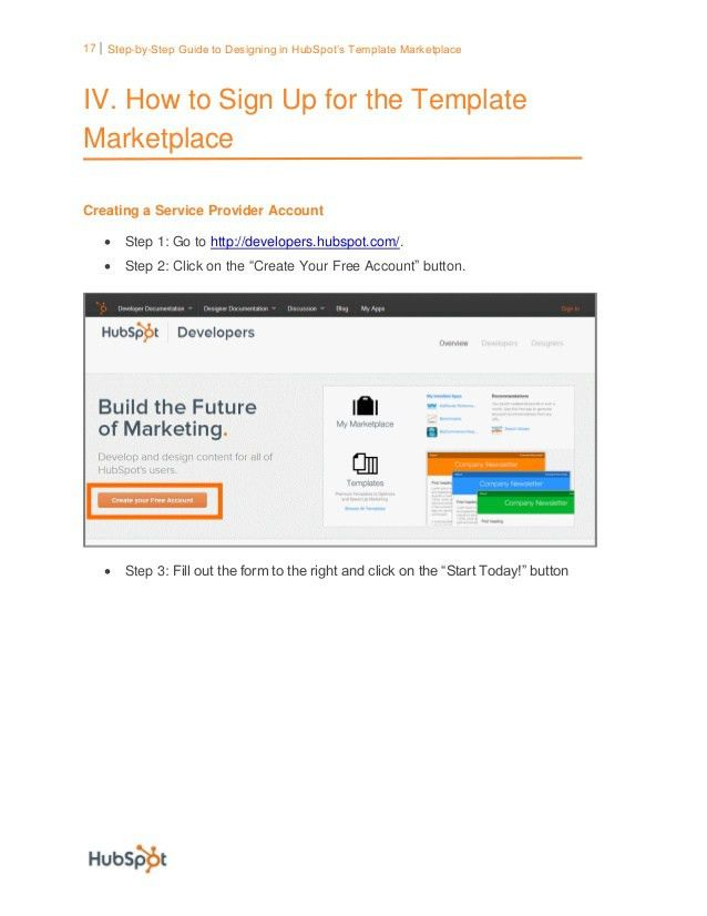 Designing for HubSpot Marketplace