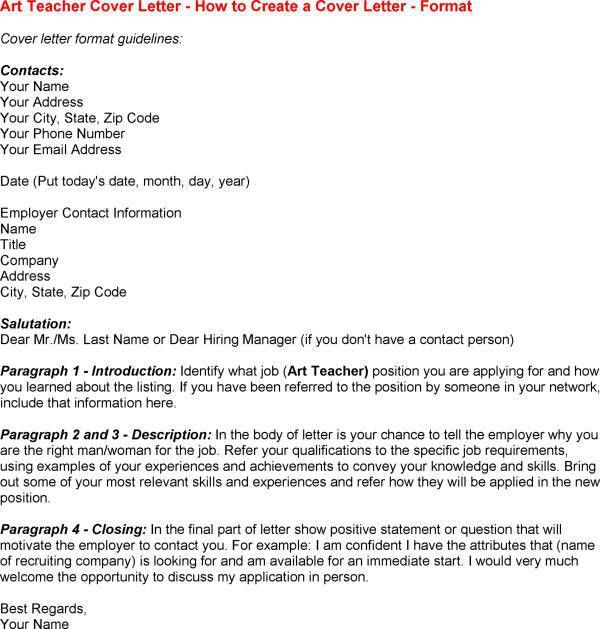 Cover letter for adjunct position sample
