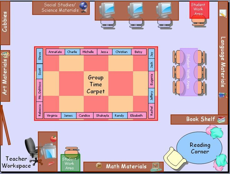 Sample Chart Templates » Seating Chart Template For Teachers ...