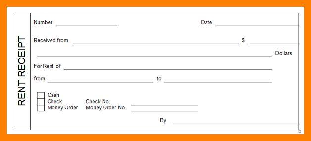 7+ free rental receipt template   packaging clerks