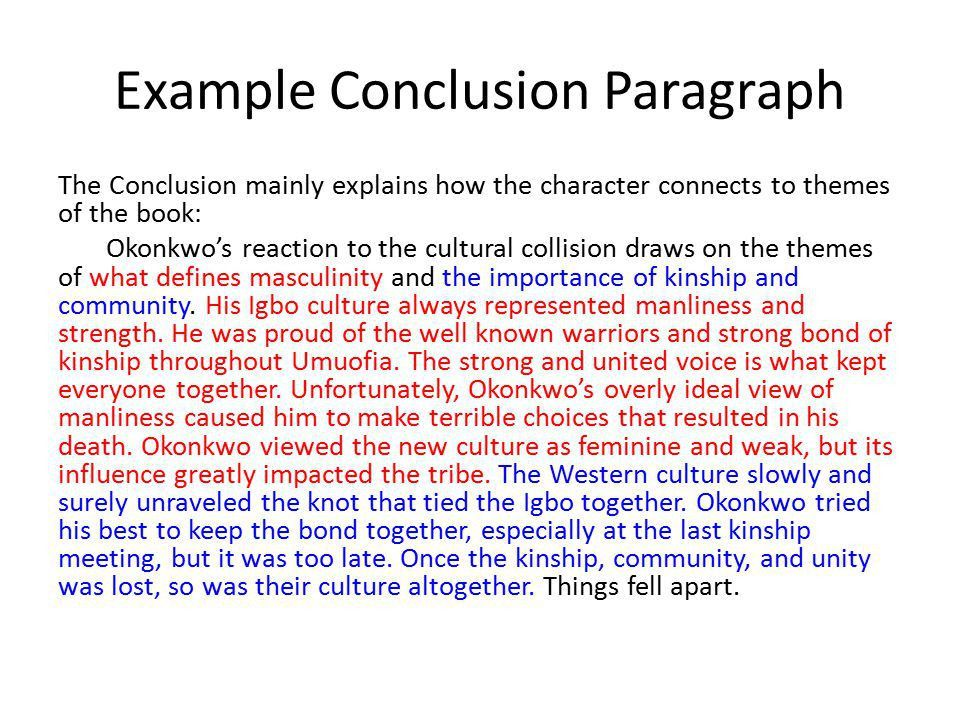 analysis essay example paragraphs ppt video online download - Conclusion Of Essay Example