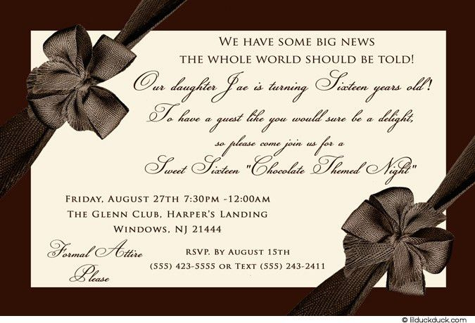 Top Compilation Of Birthday Party Invitation Wording To Inspire ...