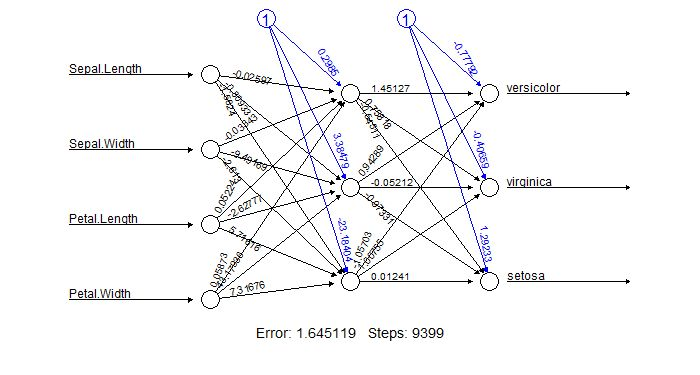 Training and Visualizing a neural network with R | PACKT Books