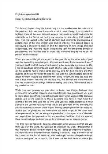 example of bad college essays