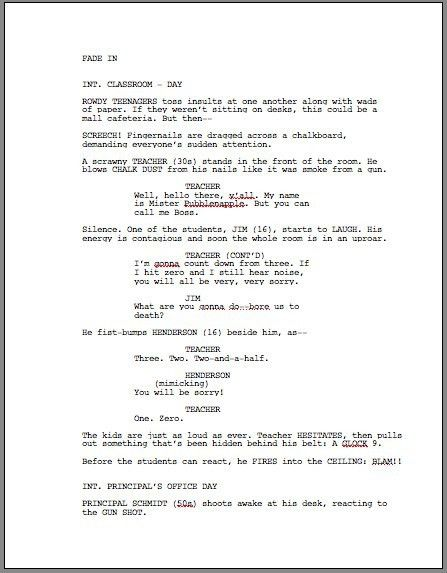 How To Format A Screenplay: Learning The Screenwriting Formula