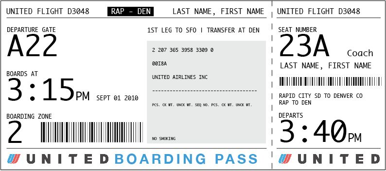 I'm so tired of boring boarding passes...Love this practical ...