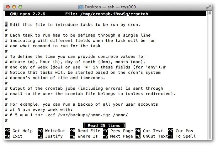 linux - Is /tmp/crontab.NKQ7JX/crontab expcted as a cron job ...