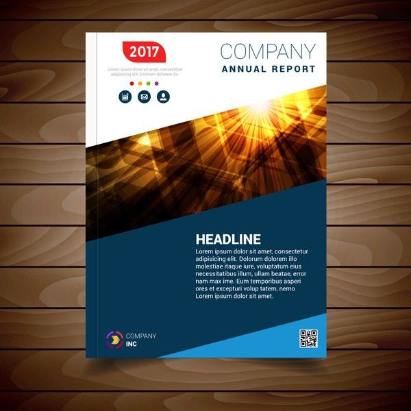 Report cover page template free vector download (16,417 Free ...
