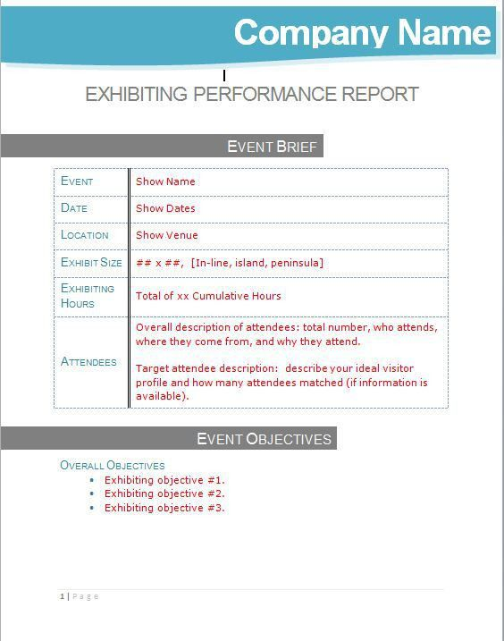 Performance Report Template. Executive Dashboard Example: Top Five ...