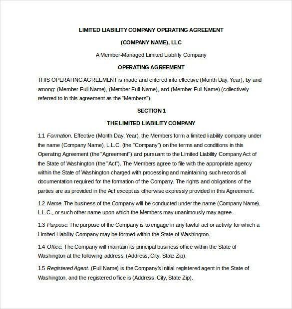 Sample Operating Agreements. Maverick Minerals Corp - Form 8-K ...