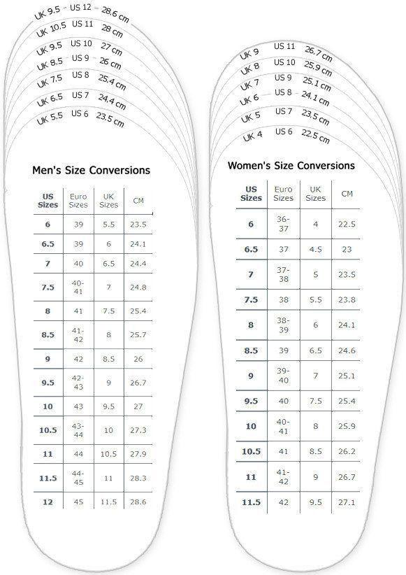 Best 10+ Shoe size conversion ideas on Pinterest   Shoe size chart ...
