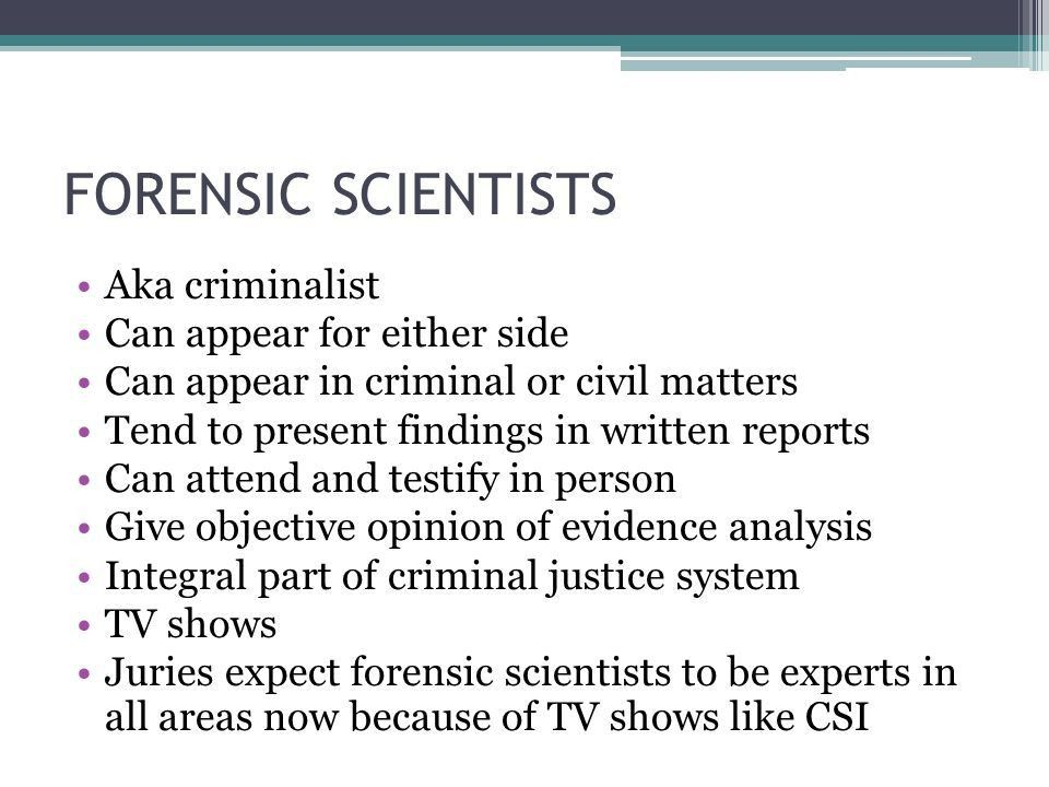 Chapter 1 Definition and scope of Forensic Science - ppt video ...