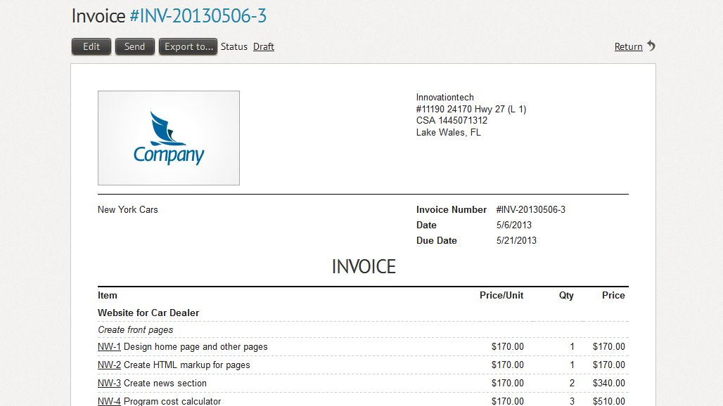 10 Best Images of Sample Invoice For Hours Worked - Work Hours ...