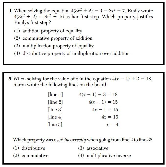 Regents Recap — June 2014: Common Core Algebra Structure « Mr Honner