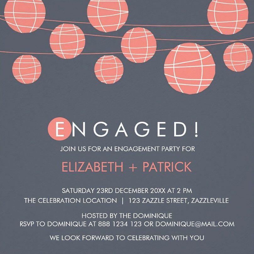 Engagement Party Invite – gangcraft.net