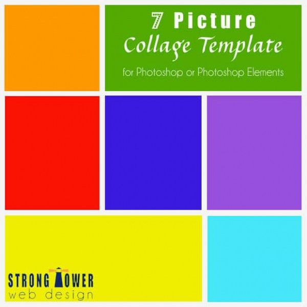 35+ Photo Collage Templates – Free PSD, Vector EPS, AI, Indesign ...