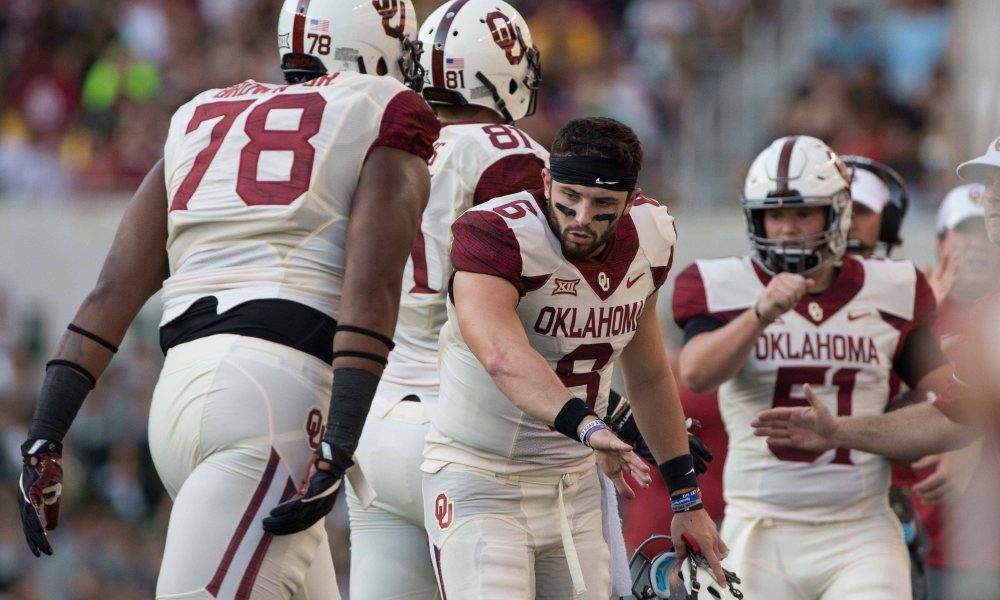 Browns draft watch: Cleveland scouting Oklahoma vs. Texas in ...