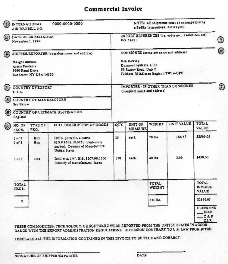 Sample Printable Invoice. Printable Invoice Form – Robinhobbs Info ...