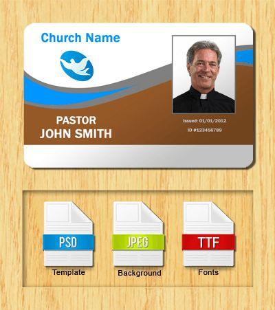 Church ID Templates - Free Download